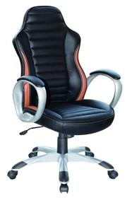 Fotel biurowy Q-112 - czarny/brązowy