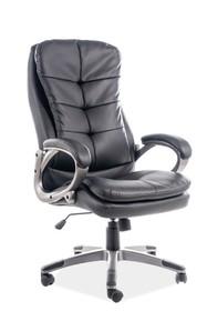 Fotel obrotowy Q-270 - czarny