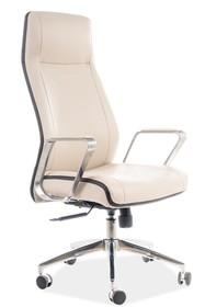 Fotel obrotowy Q-321 - beżowy