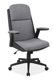 Fotel obrotowy Q-333 - szary/czarny