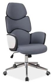 Fotel obrotowy Q-888 - szary/czarny