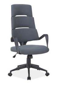 Fotel obrotowy Q-889 - szary/czarny