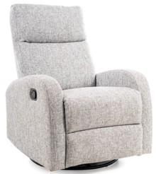 Fotel rozkładany OLIMP - szary