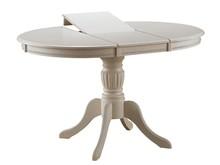 Stół rozkładany OLIVIA 106x106 - ecru