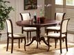 Stół rozkładany OLIVIA 106x106 - ciemny orzech