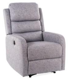 Fotel rozkładany PEGAZ - szary