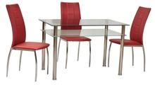 Stół PIXEL 80x60 - transparentny