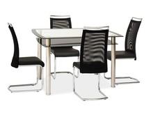 Stół RODI 120x80 - czarny