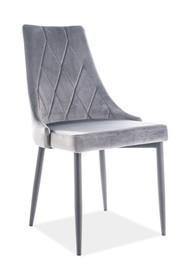 Krzesło TRIX B - szary BLUVEL 14