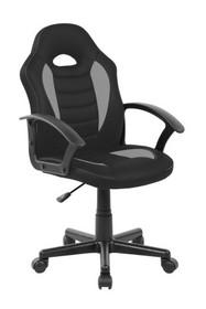 Fotel obrotowy Q-101 - czarny/szary