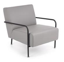Fotel wypoczynkowy CUPER - popielaty