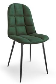 Krzesło K417 velvet - zielony