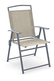 Krzesło składane ROCKY - popiel