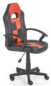 Fotel STORM - czarny/czerwony