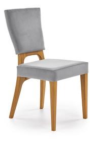 Krzesło WENANTY - dąb miodowy/popielaty