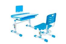 Biurko z krzesłem SANDY - niebieski