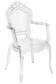 Krzesło KING ARM - transparentny