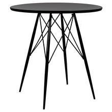 Stół okrągły JACK DSW 70 - czarny