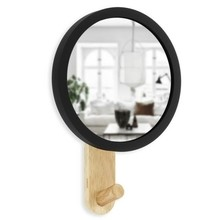 UMBRA lustro HUB MIRROR -czarny natural