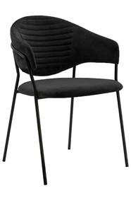 Fotel NAOMI - czarny