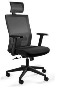 Fotel biurowy TASK - czarny