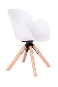 Fotel obrotowy FLOWER 360 - biały