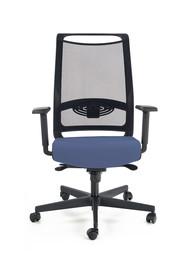 Fotel GULIETTA - niebieski/czarny