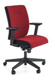 Fotel POP - czerwony/czarny
