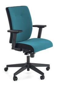 Fotel POP - czarny/niebieski