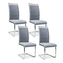 Zestaw 4x krzesło H-441 - szary