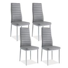Zestaw 4x krzesło H-261 - szary