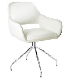 Krzesło obrotowe TALIA - biały