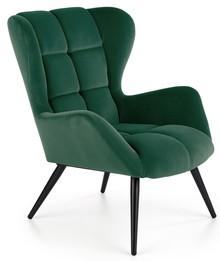 Fotel TYRION - ciemny zielony