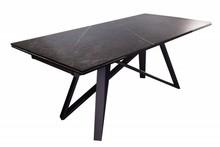 Stół ATLAS 180-220-260 cm grafit - ceramika, metal