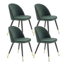 Zestaw 4x krzesło K315 - ciemny zielony