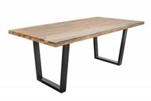 Stół FIRE & EARTH 160 sheesham - drewno naturalne, metal