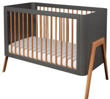 Łóżeczko dziecięce TORSTEN 120x60 - szary