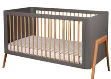 Łóżeczko dziecięce TORSTEN 140x70 - szary