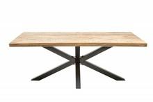 Stół GALAXIE 200 cm Mango - drewno naturalne, metal
