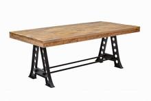 Stół INDUSTRIAL 200 cm Mango  - drewno naturalne, metal