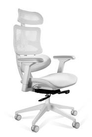 Fotel biurowy ERGOTECH - biały