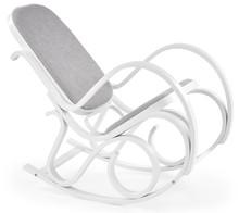 Fotel bujany MAX BIS PLUS - biały