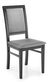 Krzesło SYLWEK 1 - czarny/popiel