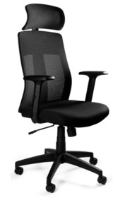 Fotel obrotowy EXPLORE - czarny