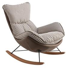 Fotel bujany OTILIA - brązowy