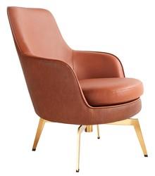 Fotel TORO - brązowy