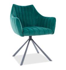 Krzesło AGAVA Velvet - zielony Bluvel 78