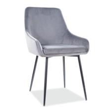 Krzesło ALBI Velvet - szary