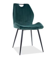 Krzesło ARCO Velvet - zielony Bluvel 78