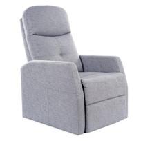 Fotel rozkładany ARES - szary